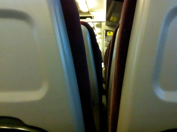 4.30am on the Gatwick Express