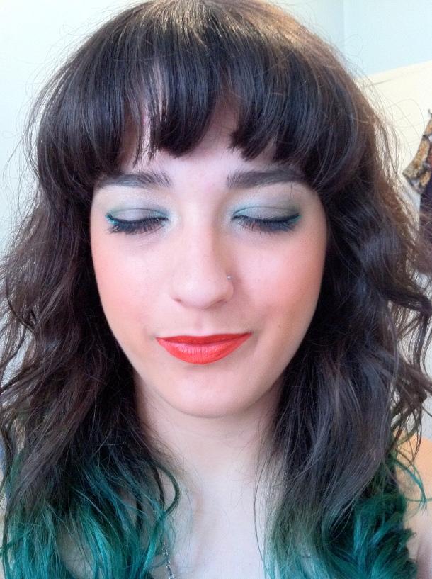 Katie Poole festival makeup