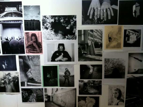 the photocopy club wall