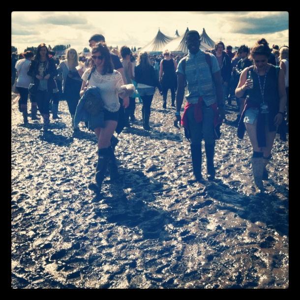 Mudfest at Hackney Weekend
