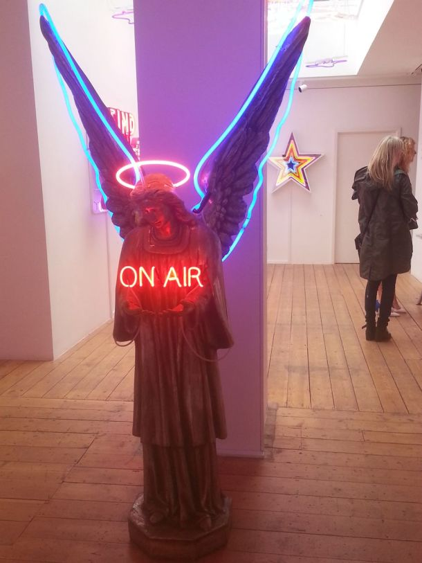 Chris Bracey at Scream Gallery in Soho