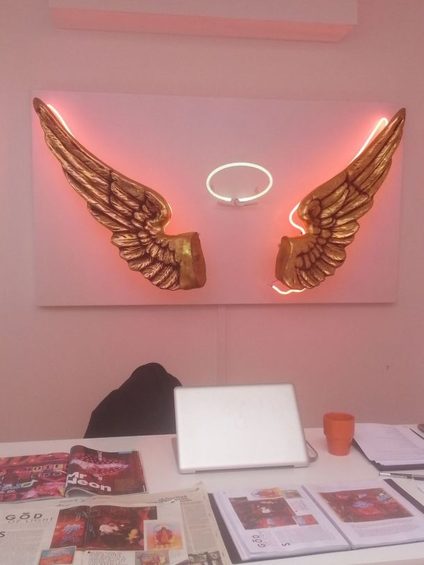 Chris Bracey at Scream Gallery in Soho