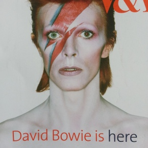 David Bowie is at the V&A