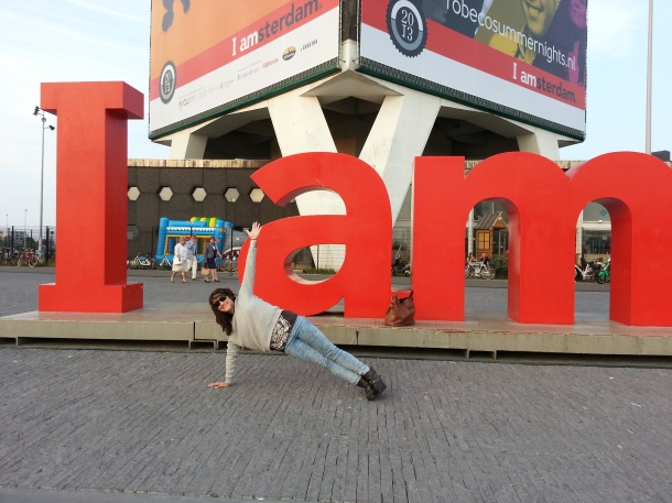side plank in amsterdam