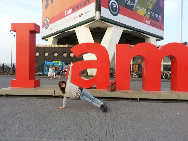 side plank in amsterdam