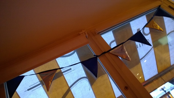 DIY bunting, sewed and photographed by yours truly