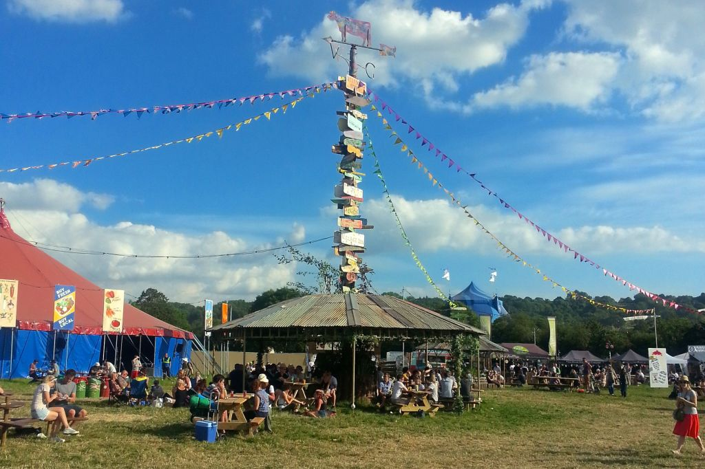 Down the rabbit hole: Katie's adventures at Glastonbury Festival
