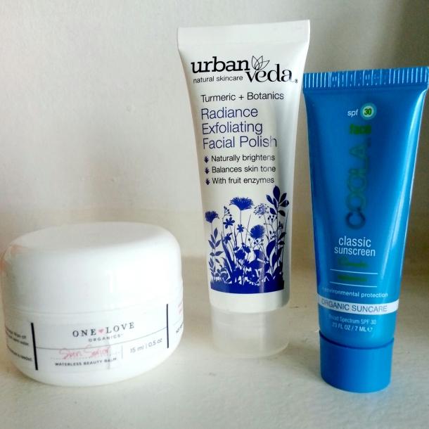 birchbox skin care one love balm urban veda coola sunscreen