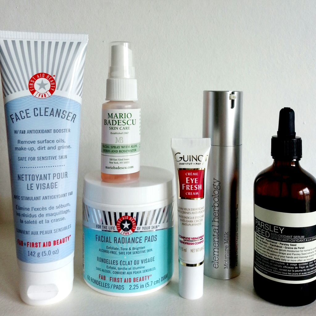 My latest beauty routine