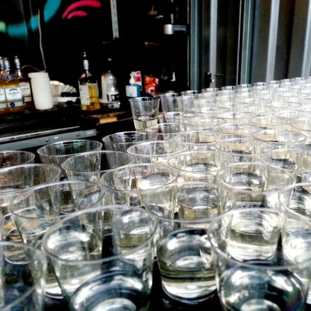 National Burger Day 2014 - Jose Cuervo Breedos Chillibacks all lined up