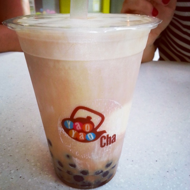 yaoyao cha bubble tea