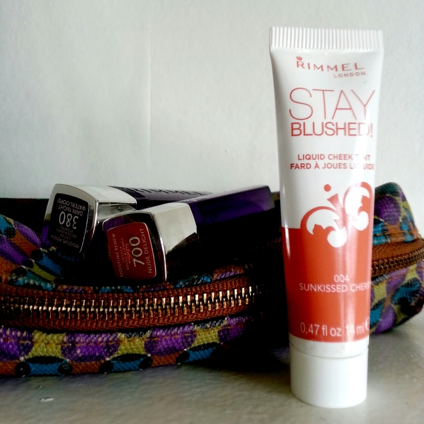 Rimmel London Moisture Renew Lipstick and Stay Blushed 2