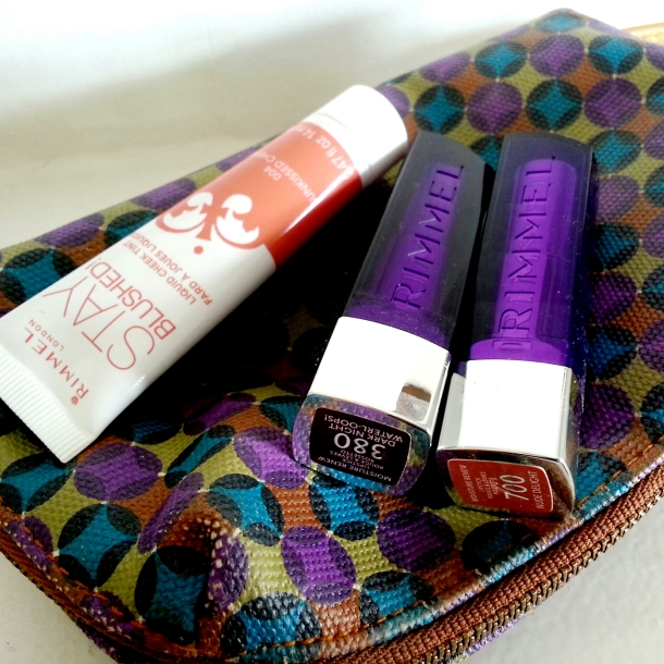 Rimmel London Moisture Renew Lipstick and Stay Blushed