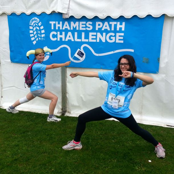 Thames Path Challenge for Barts Cancer Institute 04