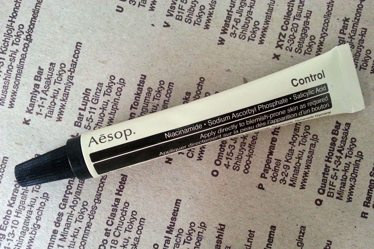 Review: Aesop Control Gel