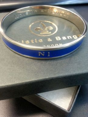 N1 Postcode Bangle by Whistle & Bango