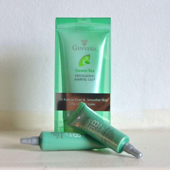 ginvera green tea exfoliating and bb cream 1