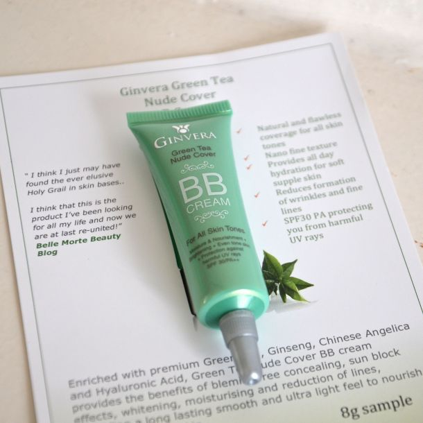 ginvera green tea exfoliating and bb cream 4