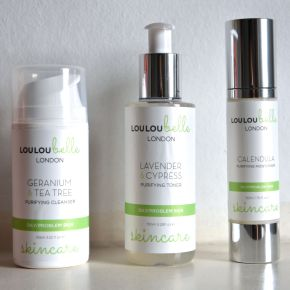 Review: LouLouBelle Skin Care for Oily/Problem Skin