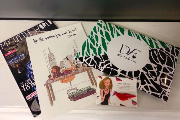 My Little Box review DVF 3