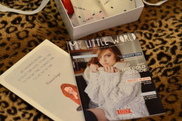 My Little Cosy Box - My Little Box November 03