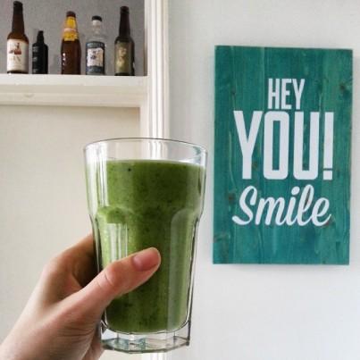 #avocado #spinach #kiwi #mint #lime #coconutmilk