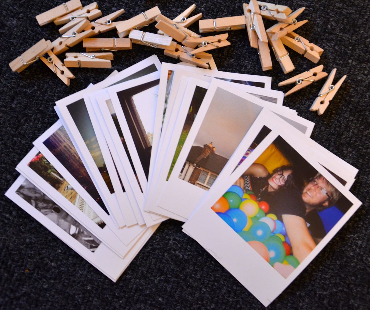 Diy pinterest inspired project for polaroid style picture - Fotos pinterest ...