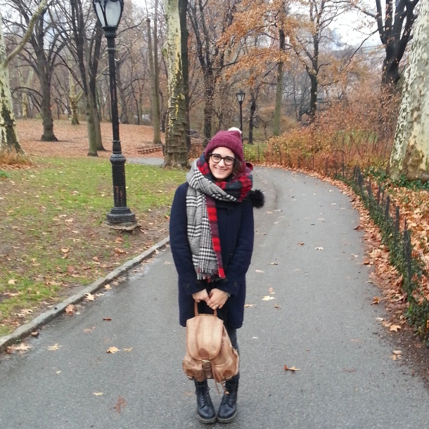 katie in central park nyc