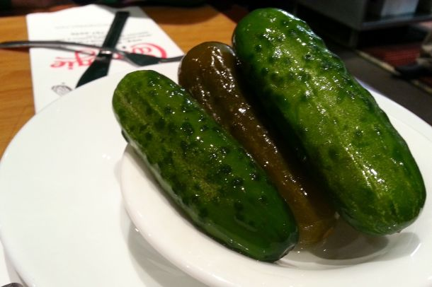 nyc carnegie deli pickles