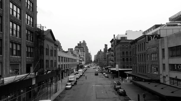 nyc view from the high line