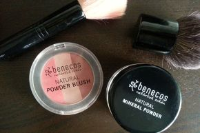 Review: Benecos Natural Mineral Powder & Powder Blush Trio (plus an every day makeup look!)
