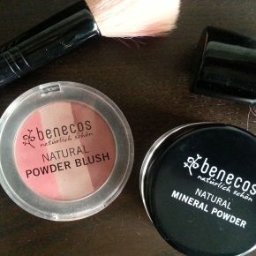 Review: Benecos Natural Mineral Powder & Powder Blush Trio (plus an every day makeuplook!)
