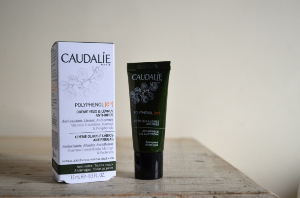 caudalie polyphenol anti wrinkle eye and lip cream