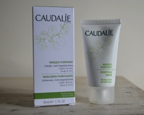 Reviewing my French beauty buys: Caudalíe Purifying Mask