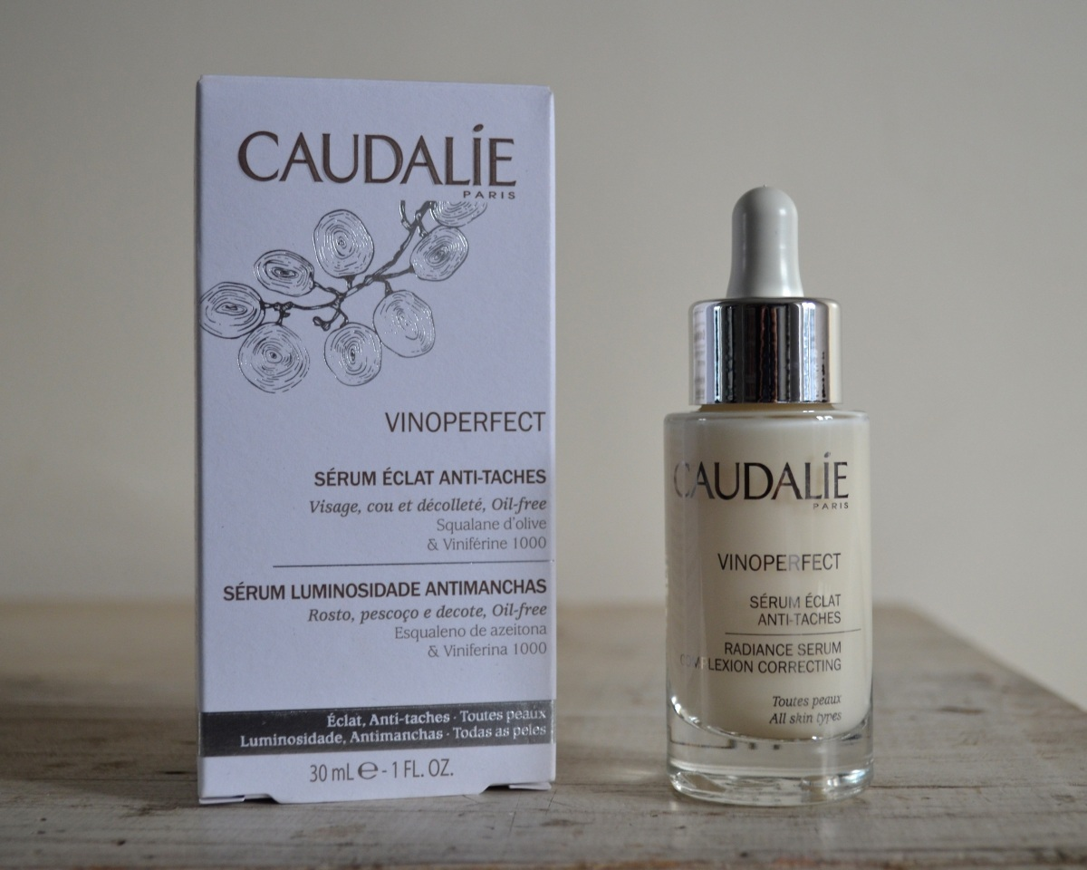Reviewing my French beauty buys: Caudalíe Vinoperfect Radiance Serum