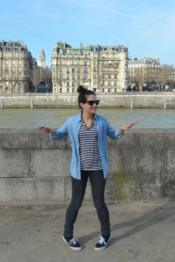 What I wore in Paris - 17