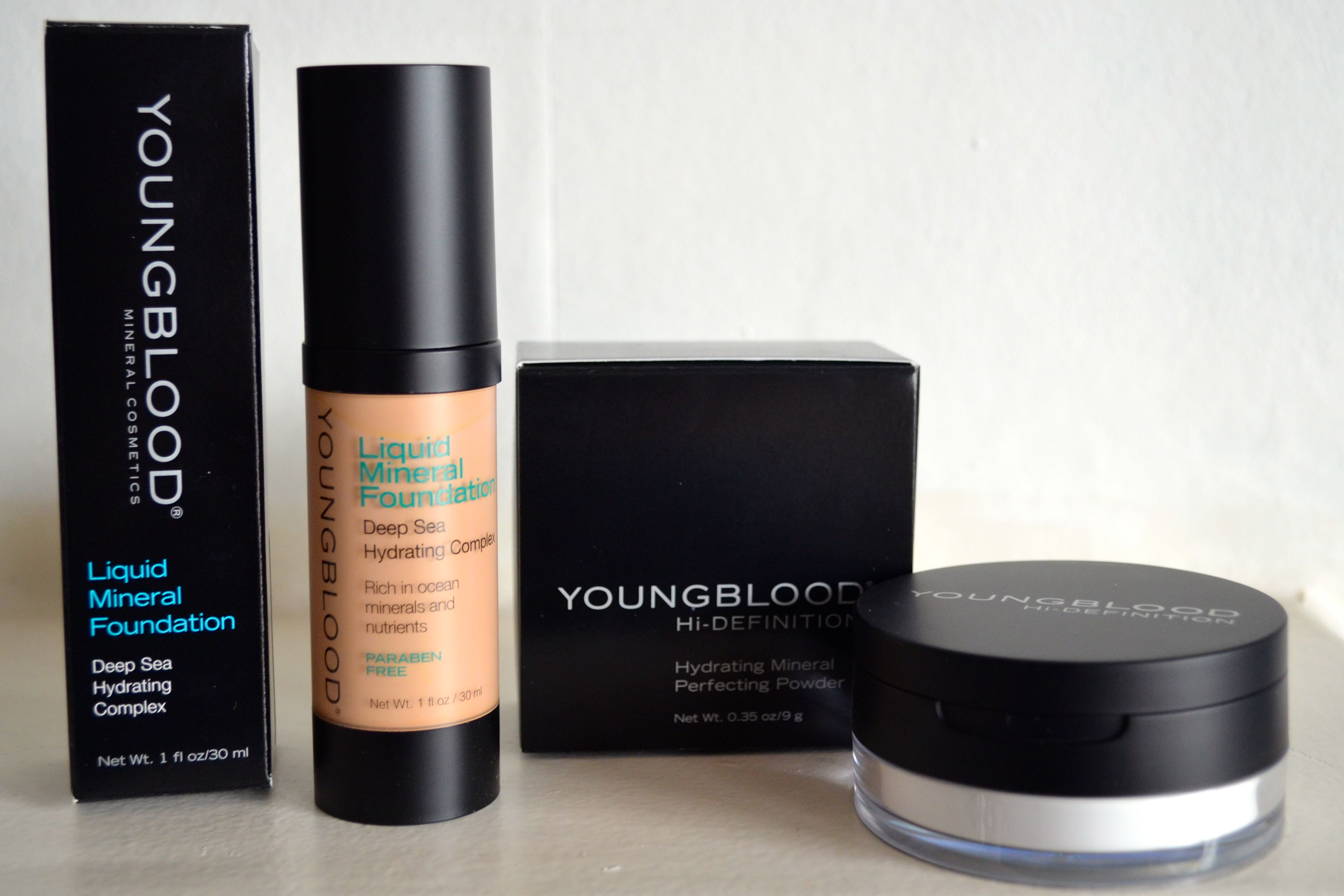 Frisk Review: Youngblood Mineral Cosmetics Liquid Foundation and WQ-33