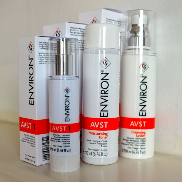 review environ avst cleansing lotion moisturising toner