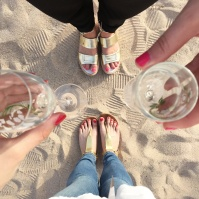Cannes - Champagne on the beach
