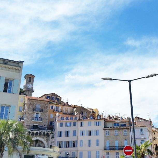 Cannes - city skyline