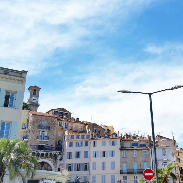 Cannes - city skyline