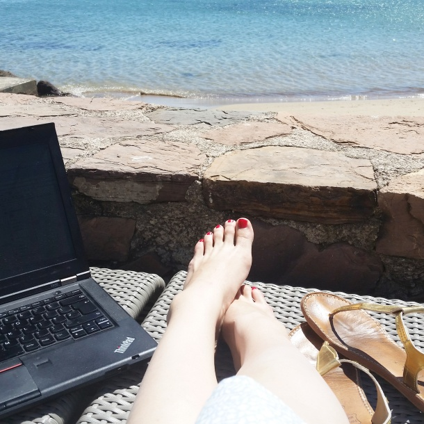 Cannes - working by the seaside
