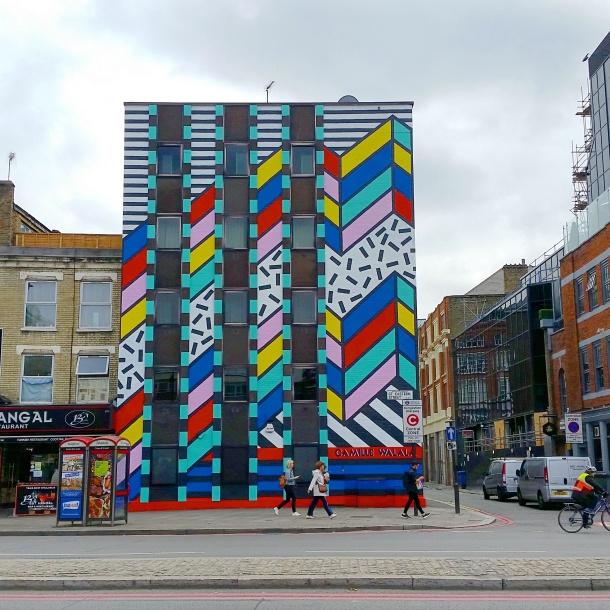 London - Camille Walala