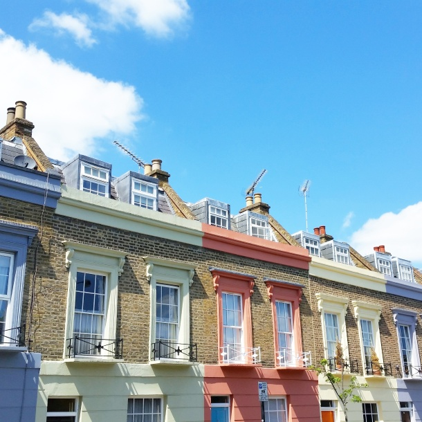 London - Houses in Camden