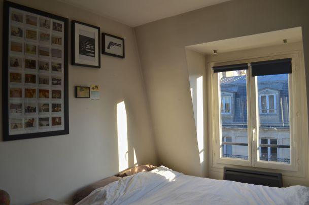 Paris Airbnb weekend travel bedroom