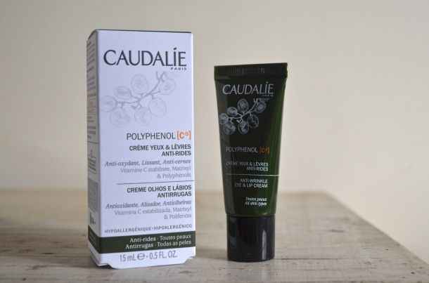Paris Beauty Buys - Caudalie Polyphenol Creme Yeux et Levres Anti Rides Anti Wrinkle Eye and Lip Cream