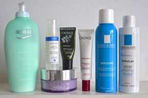 My latest travel skin care favourites &routine