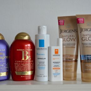 Reviewing my USA beauty buys: pharmacy buys