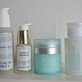 Reviewing my USA beauty buys: Kate Somerville & SundayRiley