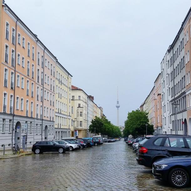 10 View near the Berlin Wall Memorial